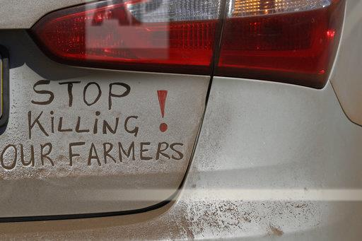 South Africa Farm Murders Protests