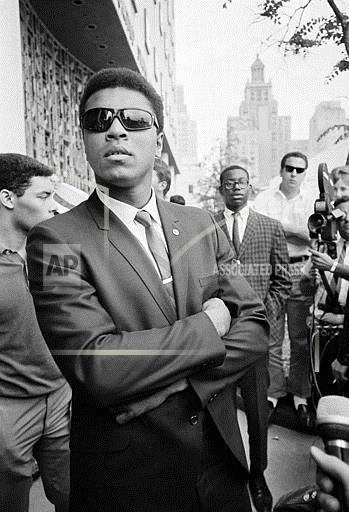 Watchf Associated Press Sports Boxing Texas United States APHS53811 Ali Conscientious Objector Case 1967