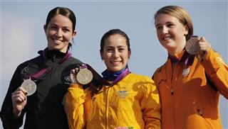 Mariana Pajon, Sarah Walker, Laura Smulders