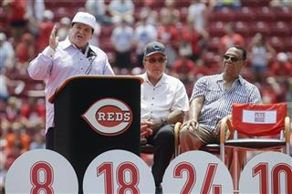 Pete Rose, Johnny Bench, Tony Perez