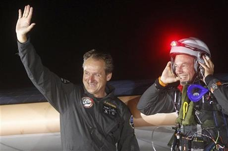Bertrand Piccard, Andre Borschberg