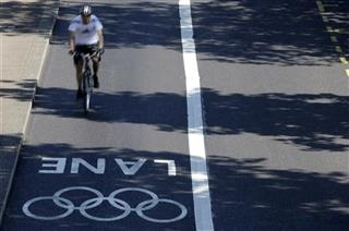 London Olympics Road Lanes