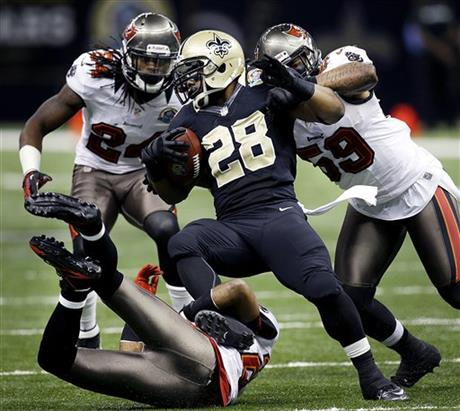Mark Ingram,  Mason Foste