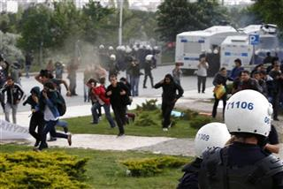Turkey Explosion Protest