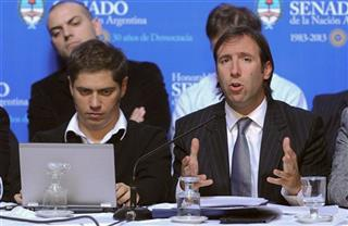 Hernan Lorenzino, Axel Kicillof
