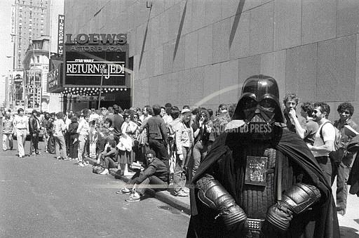 Associated Press Domestic News New York United States Entertainment STAR WARS FANS 1983
