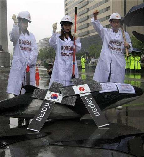South Korea Whaling