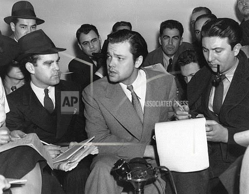 Associated Press Domestic News New York United States Entertainment WELLES WAR OF THE WORLDS