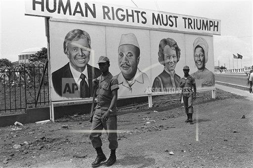 Watchf AP I   LBR APHS428975 President Jimmy Carter in Liberia