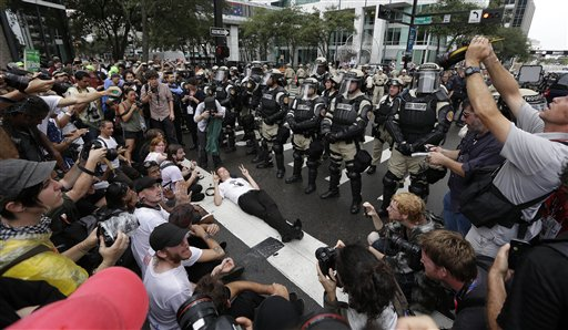Republican Convention Protests