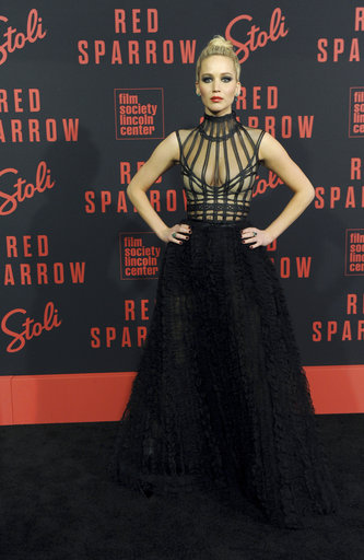 Red Sparrow Premiere Co-Hosted by Stoli Vodka