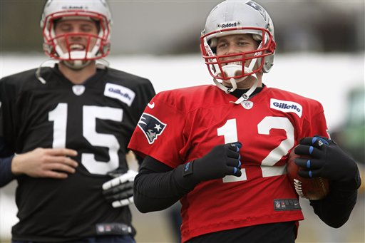 Tom Brady, Ryan Mallett