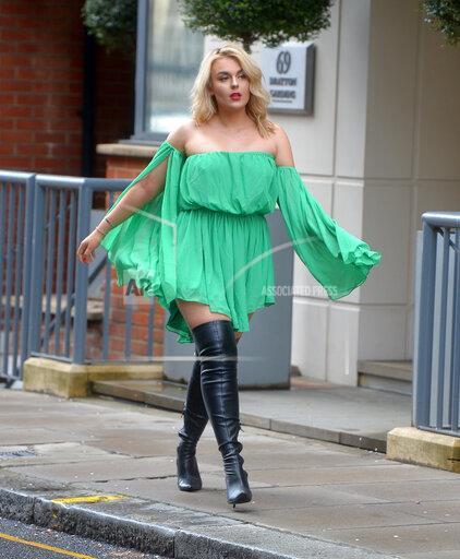 Tallia Storm out and about in Chelsea