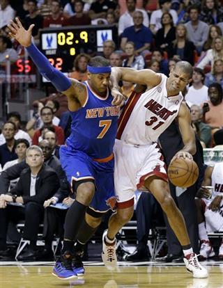 Carmelo Anthony, Shane Battier