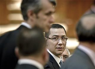 Romania Ponta Premier Designate