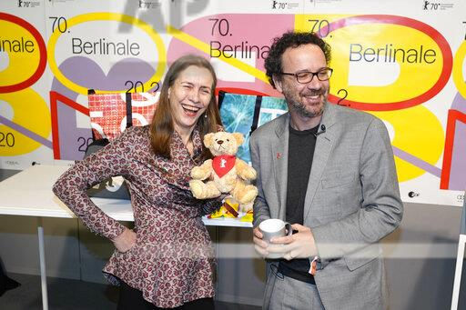 Press conference of the 70th Berlin International Film Festival