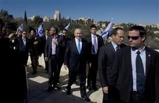 Benjamin Netanyahu, Nir Barkat, Moshe Kahlon