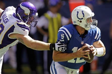 Jared Allen,  Andrew Luck