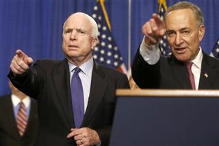 Charles Schumer, John McCain