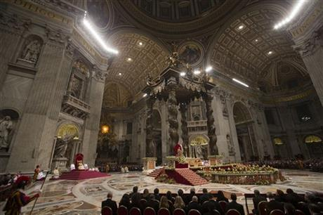 Vatican Pope New Year Eve