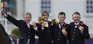 Nick Skelton, Ben Maher, Scott Brash, Peter Charles