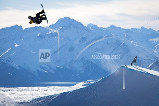 APTOPIX Switzerland Snowboarding World Cup