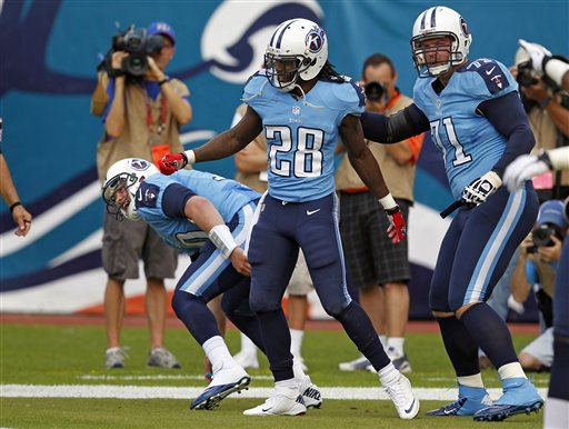 Jake Locker, Chris Johnson, Michael Roos