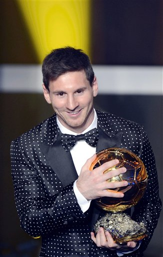At The 2013 World Player Of Year Gala Messis Decision To Start Paying Attention His Appearance Had Evolved A Level Appropriate Status