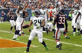 Marshawn Lynch, Charles Tillman