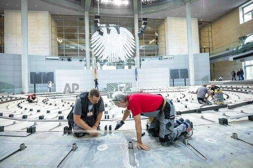 Renovation of the Bundestag