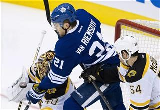 Tuuka Rask;   Adam McQuaid;  James van Riemsdyk