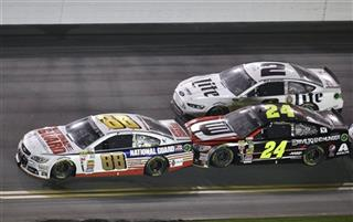 Dale Earnhardt Jr., Jeff Gordon, Brad Keselowski