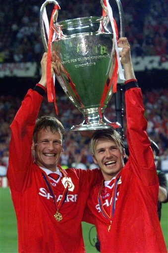 Teddy Sheringham, David Beckham