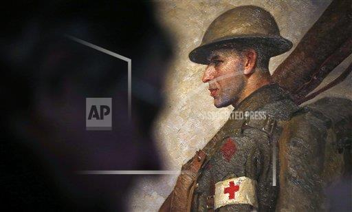 Britain World War One Centenary Exhibition