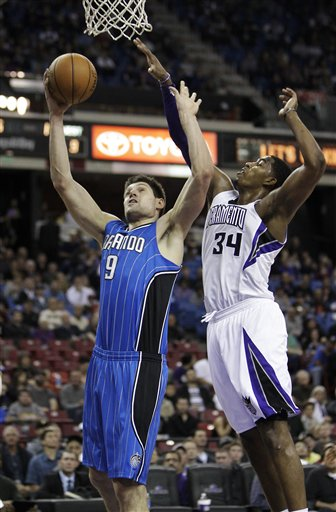 Nikola Vucevic, Jason Thompson