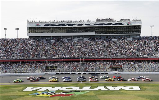NASCAR Daytona 500 Auto Racing