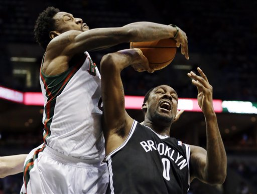 Andray Blatche, Larry Sanders