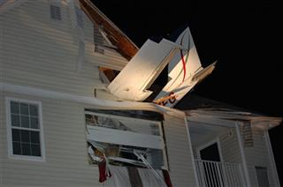 Plane Into Apartment