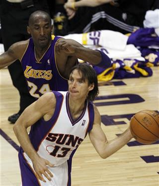 Steve Nash, Kobe Bryant