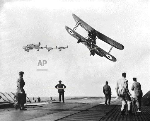Planes over H.M.S. Furious