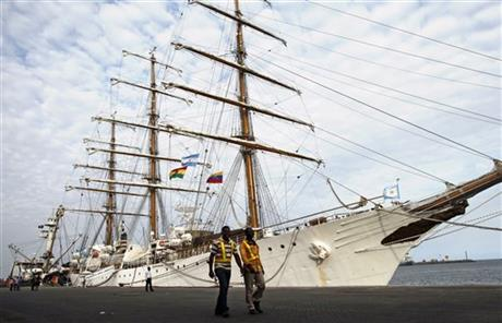Ghana Argentina Seized Ship