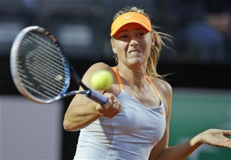 Sharapova withdraws from Italian Open with illness