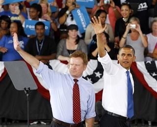 Barack Obama, Jim Webb