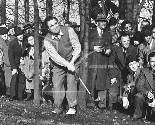 Watchf Associated Press Sports Golf New York United States APHS100158 Mysterious Montague 1937