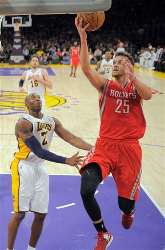Chandler Parsons, Kobe Bryant