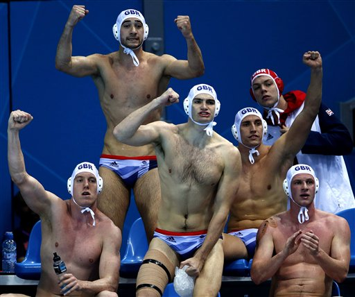 APTOPIX London Olympics Water Polo Men