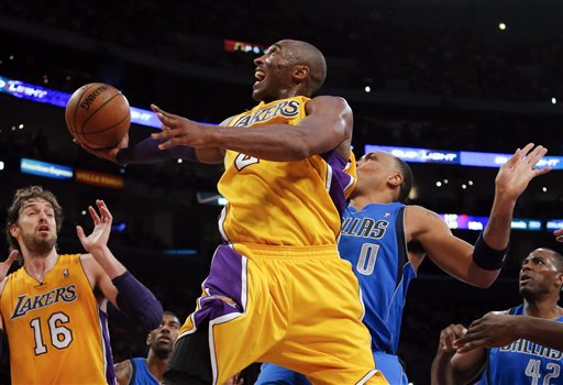 Kobe Bryant, Shawn Marion