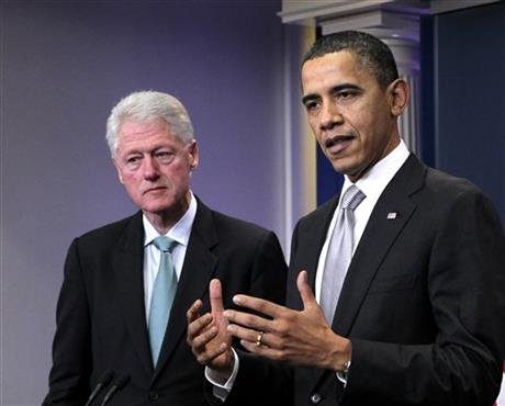 Barack Obama, Bill Clinton