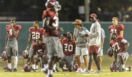 Alabama Football Fall Preseason Practice #13