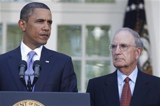 Barack Obama, George Mitchell